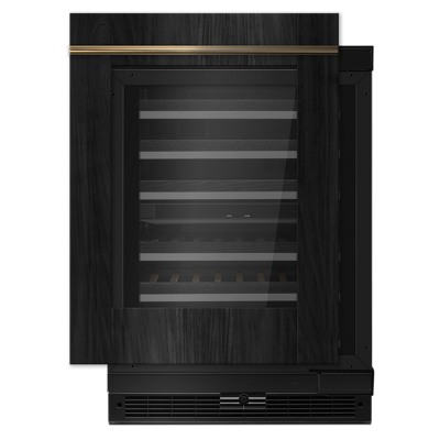 "Panel-Ready 24"" Built-In Undercounter Wine Cellar - Right Swing"