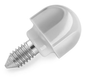 Tilt Head Stand Mixer Grey Thumb Screw for Hub Attachment Cover (Fits all Tilt Head Stand Mixer Models)