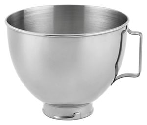 4.3 L Polished Stainless Steel Bowl with Handle