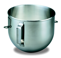 5 Qt / 4.8 L Bowl-Lift Polished Stainless Steel Bowl with Flat Handle