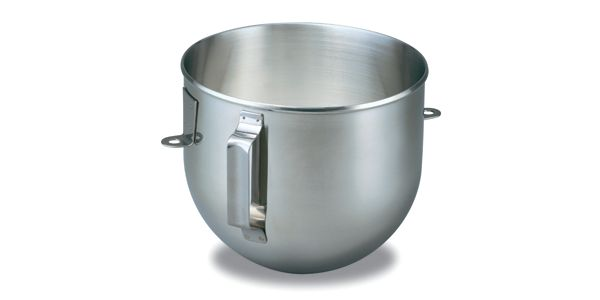 Image of KitchenAid® 5-Qt. Bowl-Lift Polished Stainless Steel Bowl with Flat Handle
