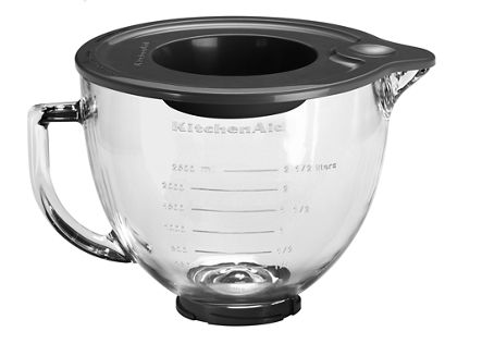 Other 4.8 L Tilt-Head Gl Bowl with Measurement Markings & Lid ... on kitchenaid 6 qt mixing bowl, kitchenaid mixing bowl stainless steel, kitchenaid mixing bowl replacement, kitchenaid 5 qt mixing bowl, melamine mixing bowls with handle, kitchenaid copper mixing bowl, kitchenaid 6-quart mixing bowl, kitchenaid replacement beaters, kitchenaid stand mixer, k45 bowl with handle, kitchenaid mixing bowl liners, kitchenaid attachments bowls, kitchenaid mixer bowl, stainless steel bowl with handle, rubbermaid mixing bowls with handle, kitchenaid mixing bowl set, kitchenaid professional 600 replacement bowl, kitchenaid products,
