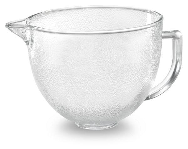 Tilt-Head Stand Mixer- 4.8 L Hammered Glass Bowl
