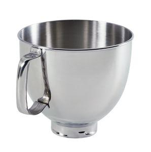 4.8 L Tilt Head ss Bowl With Handle