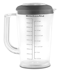 1 Liter BPA-Free Blending Pitcher with Lid
