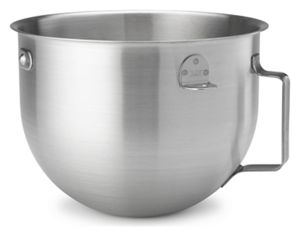 5 Quart NSF Certified Brushed Stainless Steel Mixing Bowl