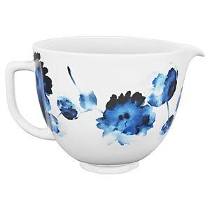 4.8 L Ink Watercolor Ceramic Bowl