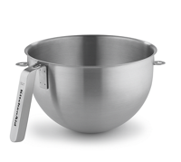 5 Quart NSF Certified Polished Stainless Steel Bowl with J Hook Handle