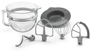 F-Series 6-Quart Glass Bowl Accessory Bundle