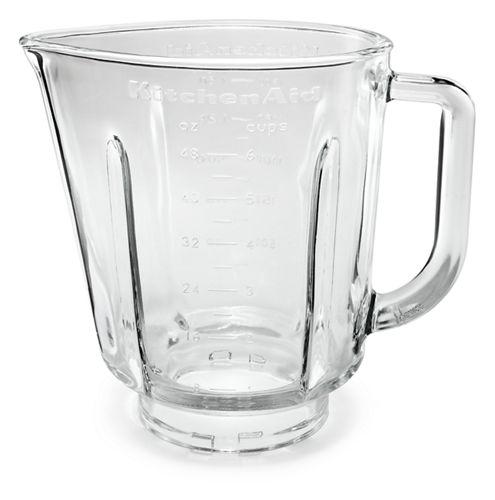 48 oz glass pitcher for blender fits model ksb565 w10221782g