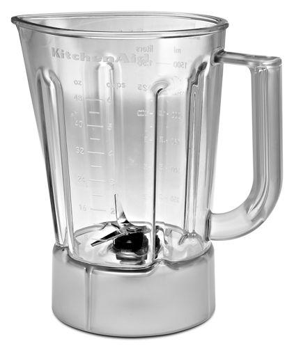40 oz glass jar for blender fits model ksb354 gasket collar and