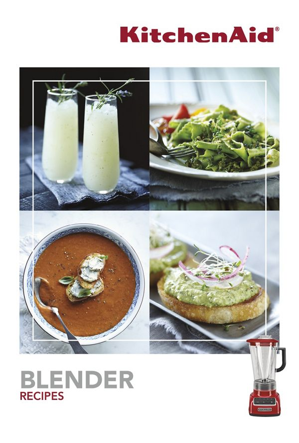 KitchenAid® Diamond Blender Recipe Book