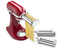 Stand Mixer 3-Piece Pasta Roller and Cutter Set Attachment