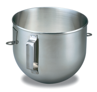 4.8 L Bowl-Lift Polished Stainless Steel Bowl with Flat Handle