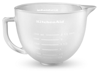 KitchenAid- 4.8 Tilt-Head Frosted Bowl
