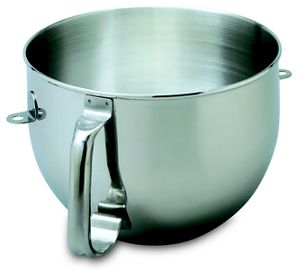 6-Qt. Bowl-Lift Polished Stainless Steel Bowl with Comfort Handle