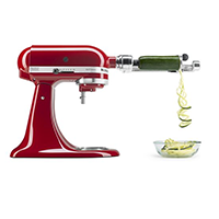 5 Blade Spiralizer with Peel, Core and Slice