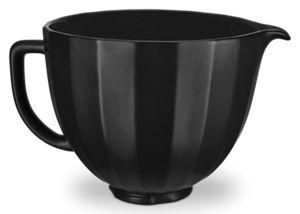5 Quart Black Shell Ceramic Bowl
