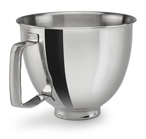 3.5 Quart Polished Stainless Steel Bowl with Handle