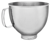 5 Quart Tilt-Head Metallic Finish Stainless Steel Bowl