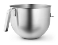 6.9L Polished Stainless Steel Bowl with J Hook Handle