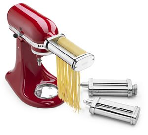 Stand Mixer 3-Piece Pasta Roller and Cutter Set Attachment