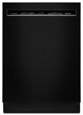 Black 46 DBA Dishwasher with ProWash™, Front Control KDFE104HBL