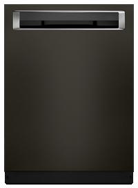 Lave-vaisselle de 39 DBA avec systeme de sechage ProDry™, fini PrintShield™ et poignee encastree