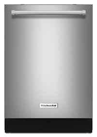 46 DBA Dishwasher with Third Level Rack, Bottle Wash and PrintShield™ Finish
