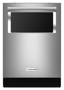 44 dBA Dishwasher with Window and Lighted Interior