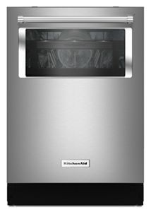 Stainless Steel 44 DBA Dishwasher With Window And Lighted Interior  KDTM804ESS | KitchenAid