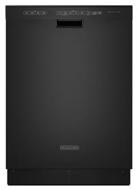 24-Inch 4-Cycle/6-Option Dishwasher, Pocket Handle