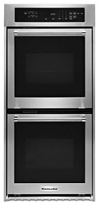 "24"" Double Wall Oven with True Convection"