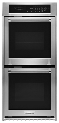 "KitchenAid® 24"" Double Wall Oven with True Convection"