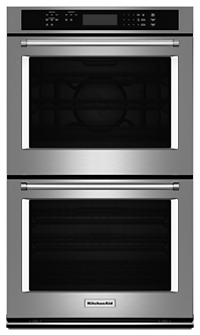 "27"" Double Wall Oven with Even-Heat™  True Convection (Upper Oven)"