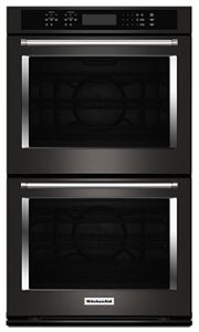 Black Stainless Steel With Printshield Finish 30 Quot Double