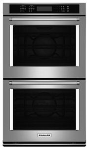 Stainless Steel 27 Double Wall Oven With Even Heat True