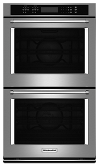 double wall ovens get more cooking power kitchenaid rh kitchenaid com KitchenAid Oven Wiring Diagram 4 Wire to 3 Wire Kebc147vss02 Electric Oven Wiring Diagram
