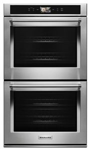 "Smart Oven+ 30"" Double Oven with Powered Attachments"