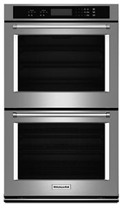 """27"""" Double Wall Oven with Even-Heat™ Thermal Bake/Broil"""