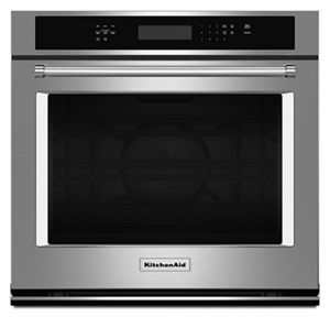 stainless steel 30 single wall oven with even heat true convection rh kitchenaid com