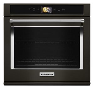 "Smart Oven+ 30"" Single Oven with Powered Attachments and PrintShield™ Finish"