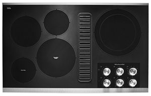 """36"""" Electric Downdraft Cooktop with 5 Elements"""