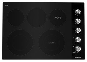 """30"""" Electric Cooktop with 5 Elements and Knob Controls"""