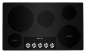 """36"""" Electric Cooktop with 5 Elements and Knob Controls"""