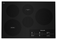 "30"" Electric Cooktop with 5 Elements and Touch-Activated Controls"