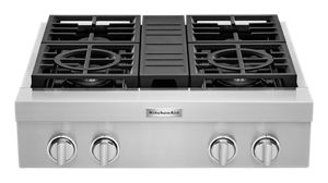KitchenAid® 30'' 4-Burner Commercial-Style Gas Rangetop