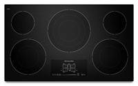 36-Inch, 5-Element Electric Cooktop with Even-Heat™ Technology and Touch-Activated Controls