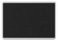 "30"" Induction Cooktop with 4 Elements and Touch-Activated Controls"