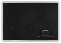 "30"" Induction Cooktop with 4 Elements, Touch-Activated Controls and Power Slider"